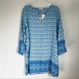 VINEYARD VINES | linen blend tunic/dress